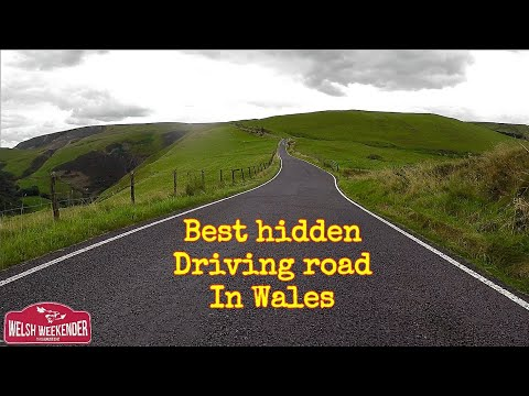 Best hidden driving road in Wales! - Machynlleth to Llanidloes