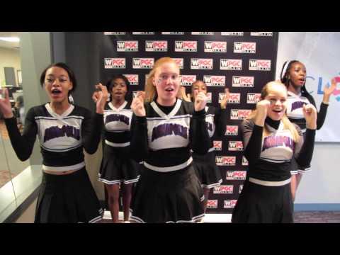 Annapolis High School cheerleaders on WPGC 95.5