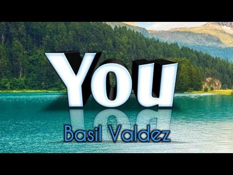 You -  Basil Valdez (Karaoke)