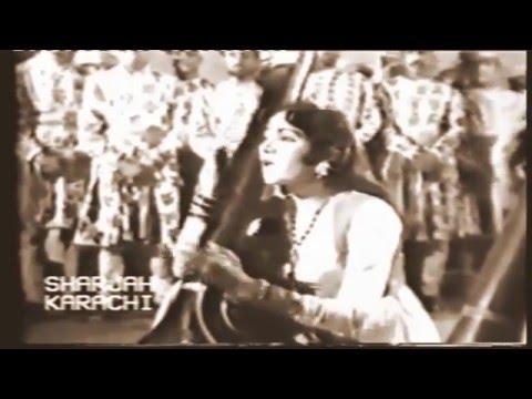 Raga Bahar - Roshan Ara Begum & Ghulam Hassan Shaggan - Roop Mati Baz Bahadur (1960)