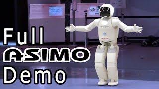 ASIMO - full demo at Miraikan. Tokyo.