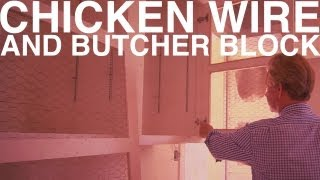 Chicken Wire And Butcher Block | Day 111 | The Garden Home Challenge With P. Allen Smith
