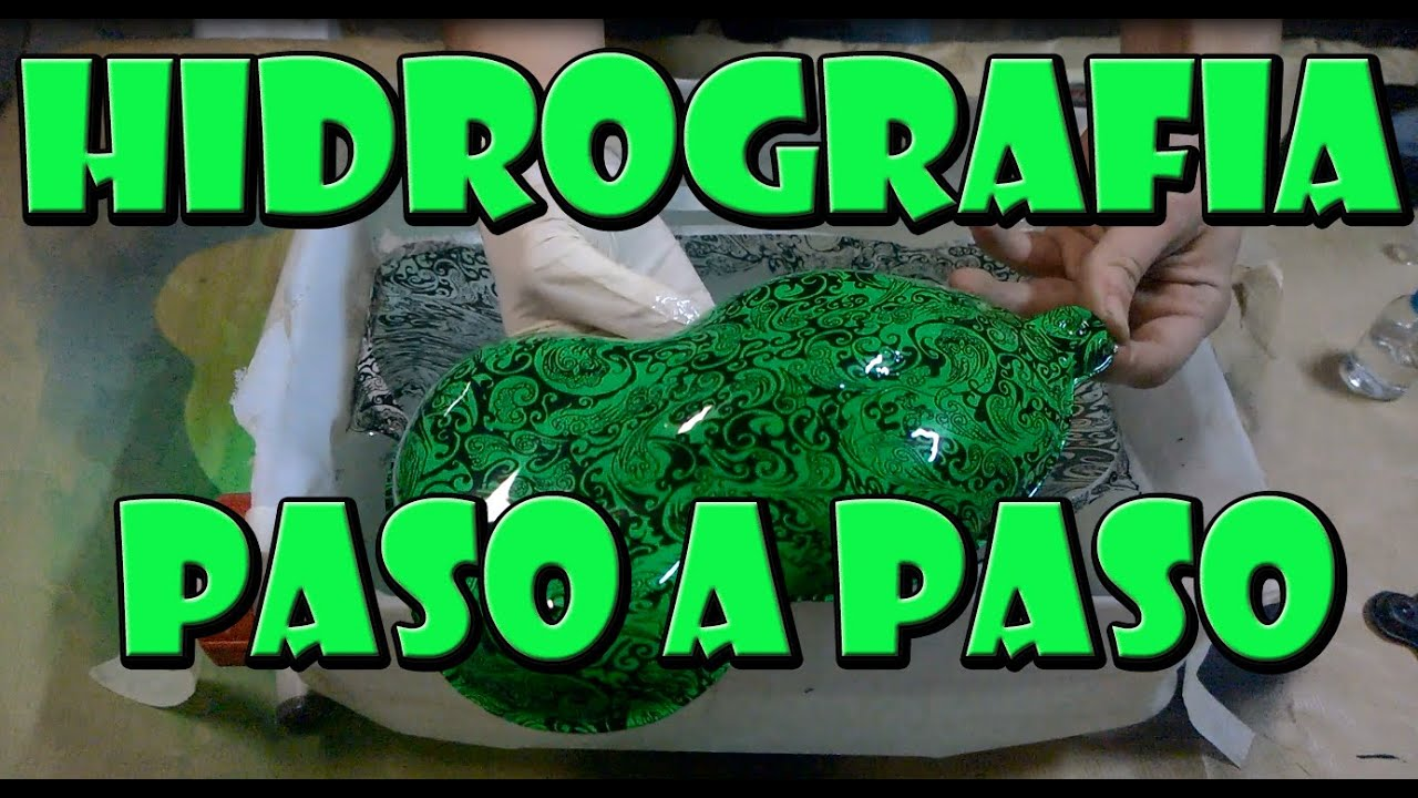 Tutorial Hidrografia Casera Como Hacer Hidroimpresion En Casa Water Transfer Youtube