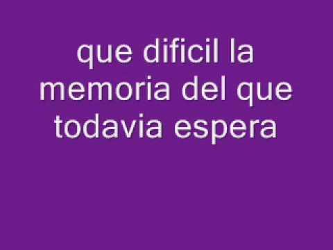 Erreway~Memoria~Lyrics♫