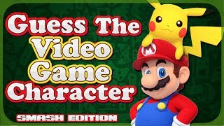 Guess The Video Game Character! - NINTENDO - MARIO - ZELDA - POKÈMON- SONIC (Smash Ultimate Edition)