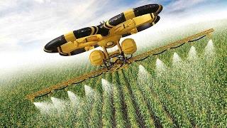 УДИВИТЕЛЬНЫЕ фрукто уборочные машины и сельхозтехника