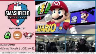 SFW #129 GF Set 2: C9|Ally (Mario) vs Gooshi|LOE1 (Luigi)