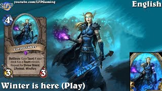 Hearthstone: Corpsetaker card sounds in 14 languages -Knights of the Frozen Throne