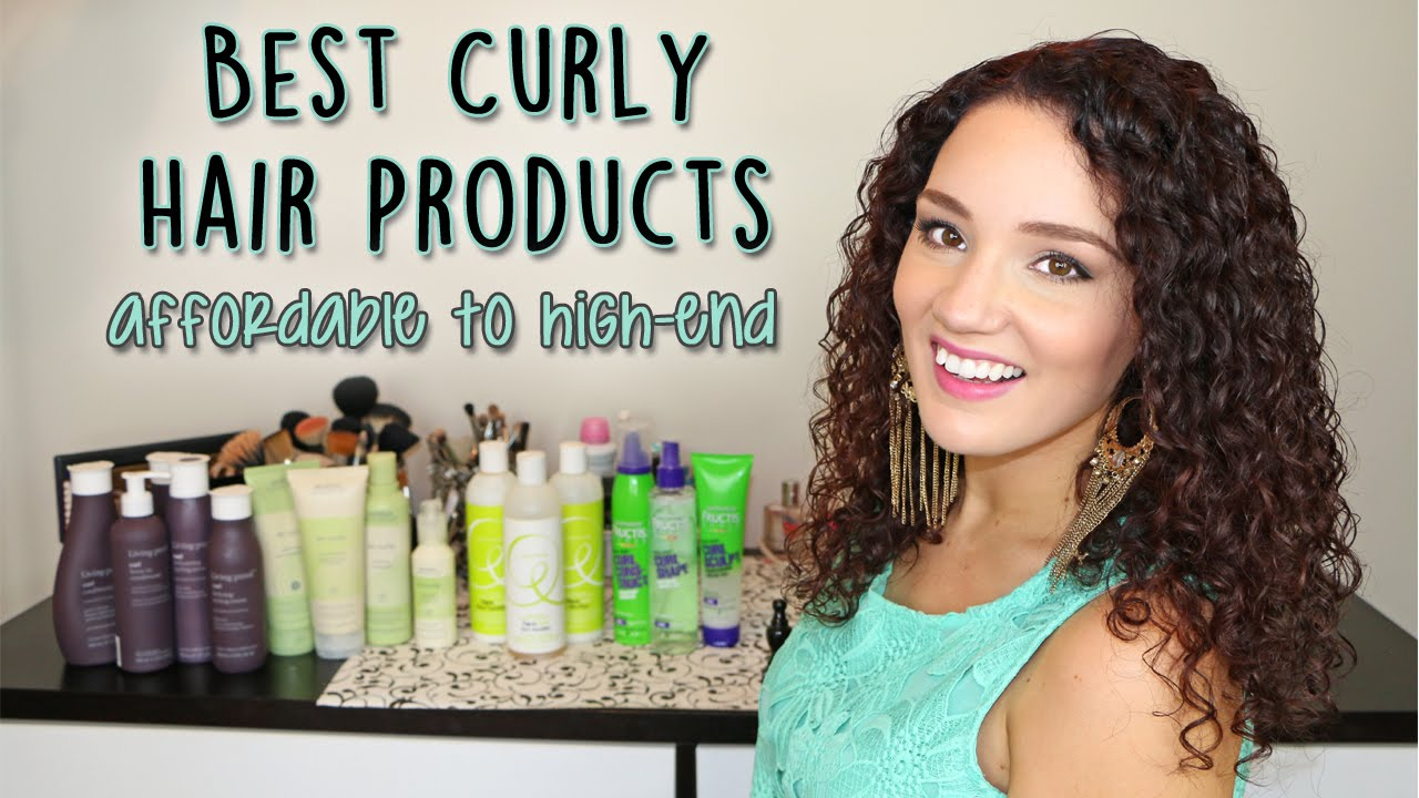 Best Curly Hair Products From Drugstore To High End YouTube