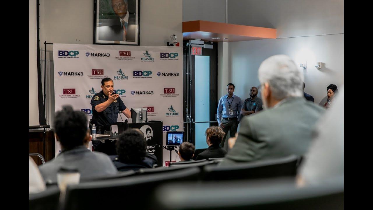 Big Data & Community Policing Workshop Houston 2019