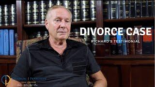 Gambar cover Denmon Pearlman - Divorce Case (Richard's Testimonial)