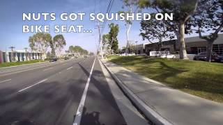 35mph motorized bicycle over 100mpg GOPRO HERO3+ Solution to high gas prices
