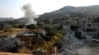 Foça'daki Hain Saldırının Patlama Anı Videosu