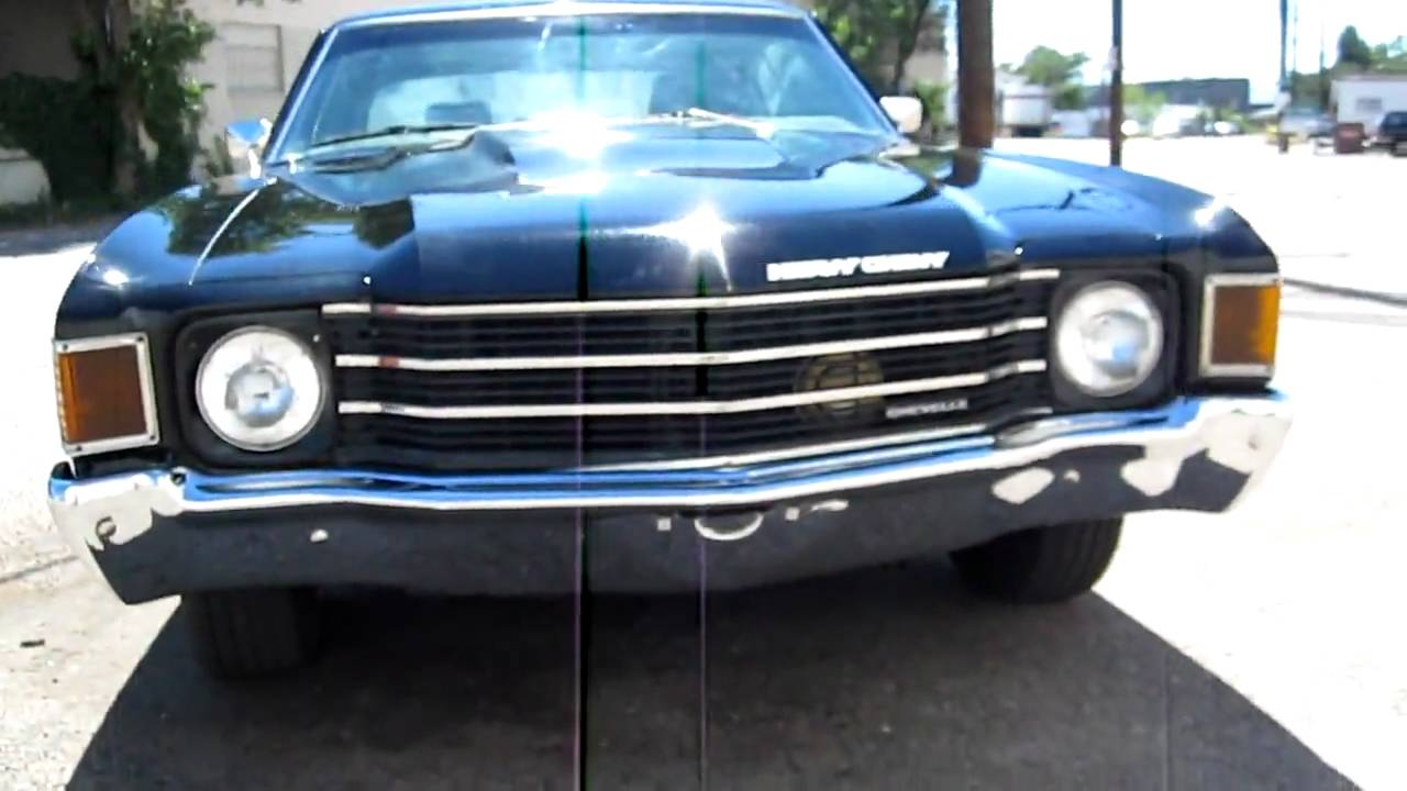 1972 Chevy For Sale >> RARE 1972 Chevrolet HEAVY CHEVY Chevelle 454 Big Block 5 Speed Richmond for sale - YouTube