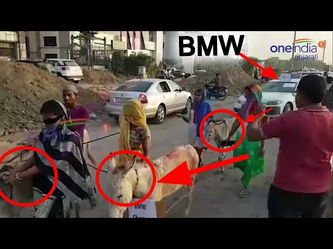 Video : Ahmedabad Business unique protest for bad BMW Car Servicing