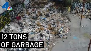Tons of Garbage Pose Health Hazard in Fashion District | NBCLA