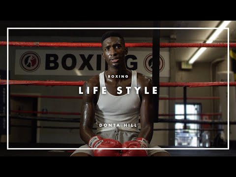 The Boxing Skateboarder | Donta Hill