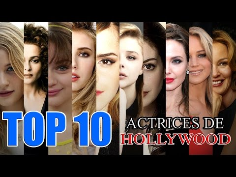 TOP 10 | Actrices Favoritas de Hollywood