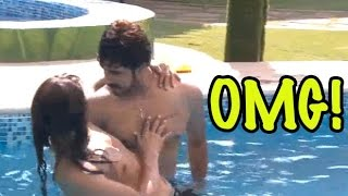 Bigg Boss 9: Suyyash Rai Cheats On Kishwer Merchant, Romance With Someone Inside The Pool!