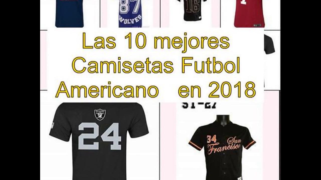 Las 10 mejores Camisetas Futbol Americano en 2018 - YouTube 2456ae4f69a36