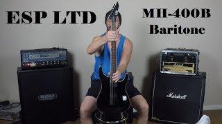Unboxing: ESP LTD MH-400B Baritone Guitar