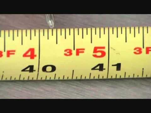 Tape Measure Test >> Tips On Reading A Tape Measure Youtube