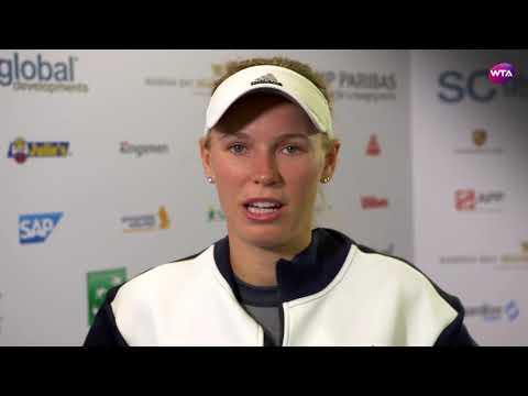 My Performance | Caroline Wozniacki defeats Karolina Pliskova | 2017 WTA Finals Singapore