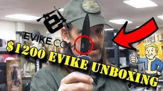 """$1200+ Evike Unboxing featuring ICS"" Sussex Sniper Unboxing"