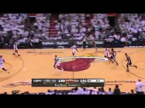NBA Finals 2013 Game 6 Highlights - San Antonio Spurs Vs Miami Heat 18 June http://www.nbacircle.com