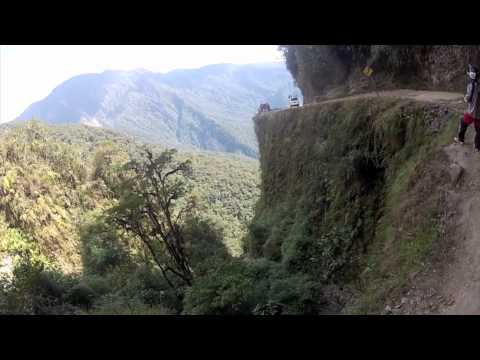 Downhill Death Road, La Paz, Bolivia... As seen through a Gravity Guides eyes