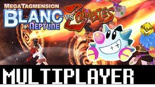 Megatagmension Blanc + Neptune vs Zombies unedited Multiplayer gameplay