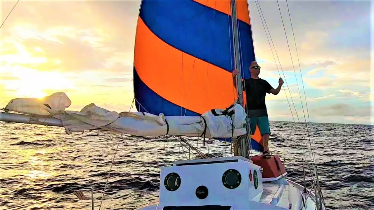 WIND AT LAST!  // WAVE ROVER'S SOLO ATLANTIC PASSAGE NORTH