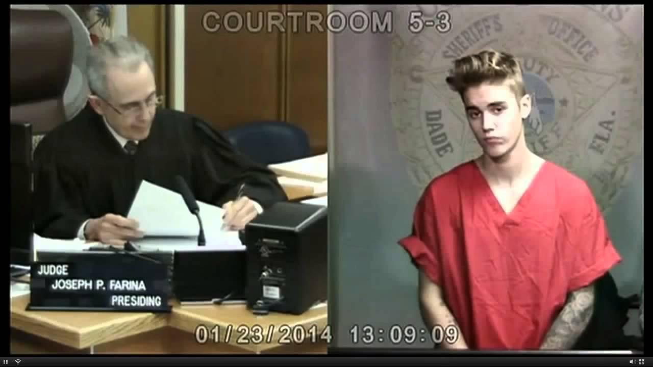 Justin Bieber Court VIDEO   Justin Bieber Arrested DUI & Drag Racing Reaction