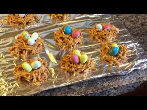 FUN/EASY How to make Bird Nest Cookies