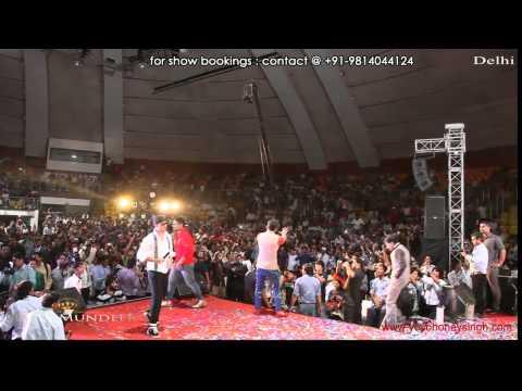 Yo Yo Honey Singh & mafia Mundeer @ Tal katora stadium DELHI
