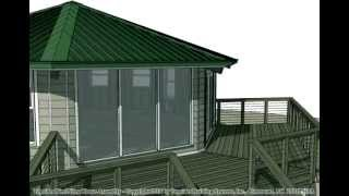 Topsider Homes Prefab Stilt Home Animated House Assembly