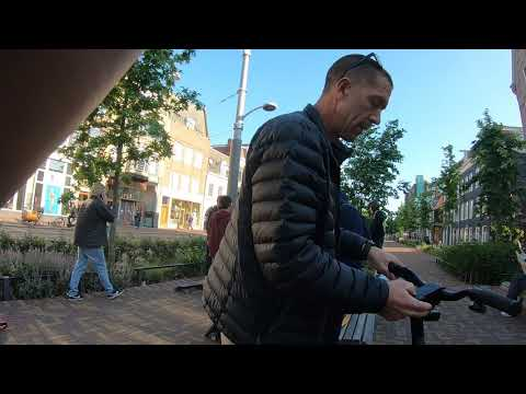 Testing the new Boosted Rev Scooter in Amsterdam