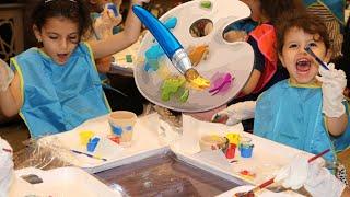 تحدي التلوين | التلوين والرسم | الرسم على الوجه | coloring |