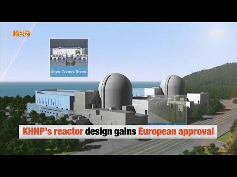 KHNP Reactor Design Approved by Europe / YTN KOREAN