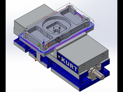 KevCAM Night School - SolidCAM - Fixtures for Milling