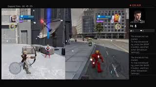 Disney infinity 2.0 Avengers playset gameplay beating loki