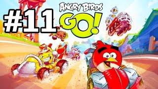 Angry Birds Go! Геймплей Прохождение Часть 11  Gameplay Walkthrough Part 11(Добро пожаловать на трассы скоростного спуска Свинского острова! Почувствуйте кайф гонки вместе с птицами..., 2015-01-21T12:25:11.000Z)