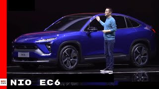 Nio will begin selling the ec6 in mid-2020 and it come equipped with new 100 kwh battery pack. claims ec6's range be 381 miles per char...