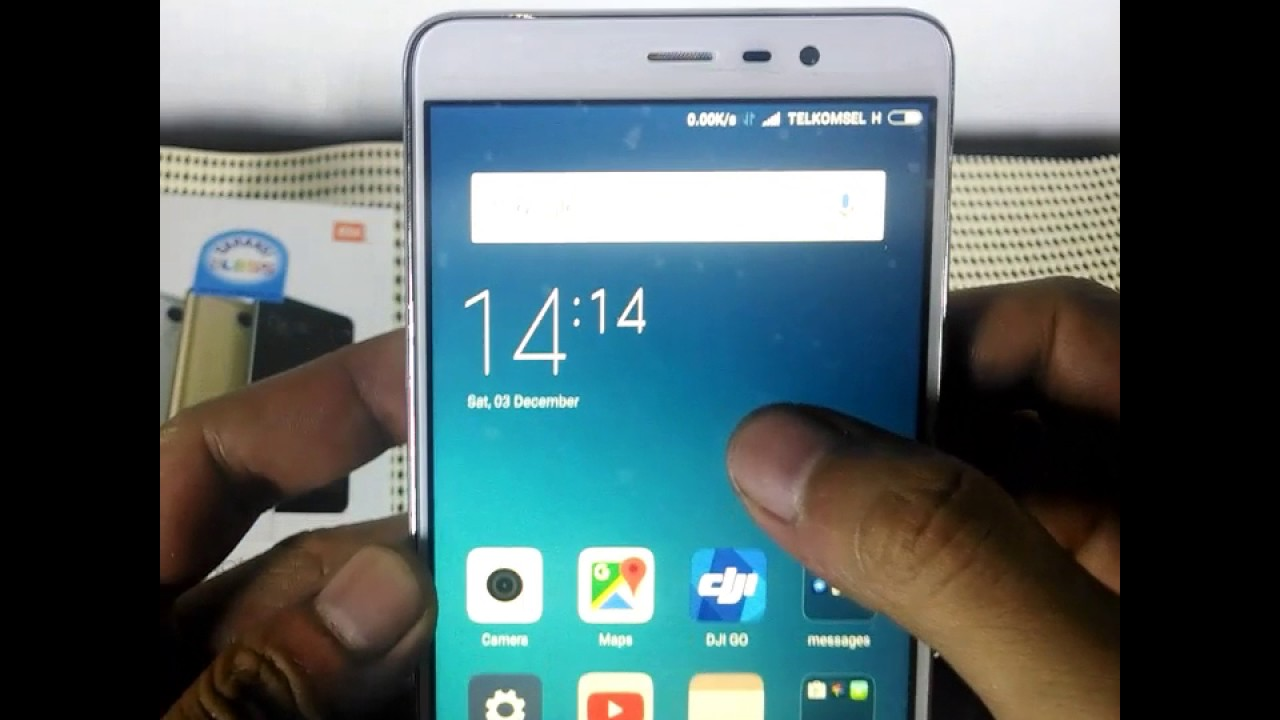 Setting 4g Xiaomi Redmi Note 3 Pro Simple No Root Youtube