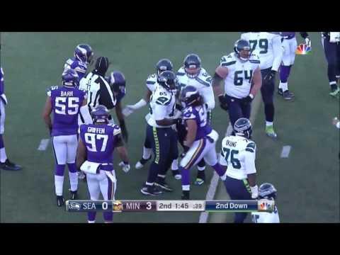2016 Condensed NFC Wildcard Seattle Seahawks Vs Minnesota Vikings