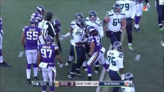 2016 Condensed NFC Wildcard Seattle Seahawks Vs Minnesota Vikings