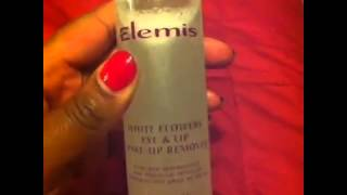 Elemis White Flowers Eye & Lip Make Up Remover Video Thumbnail