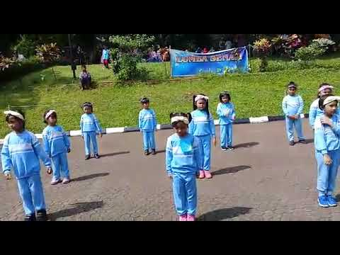HARDIKNAS DKI 2018  Juara 1 Senam Anak Anak
