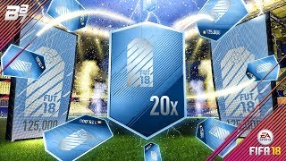 20x 125K ULTIMATE PACKS! THE BEST PACK IN THE GAME? | FIFA 18 ULTIMATE TEAM