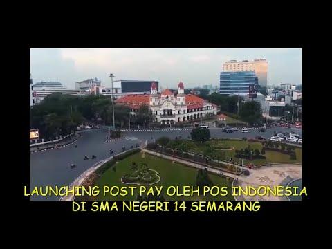 Launching pospay bersama SMA Negeri 14 Semarang